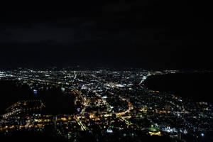 Nigh View of Hakodate in 2020