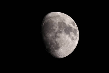 Waxing Gibbous Moon 10.6 Days