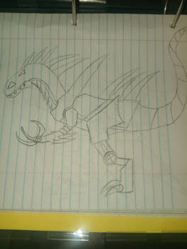 mecha/robo indoraptor