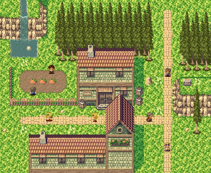 Image Result For Pixel Village Building