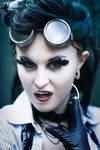 Steampunk Vampire by ctrlaltvamp