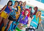 SuperHero Disney Princesses 5 by ctrlaltvamp