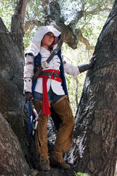 Connor Kenway Cosplay 1