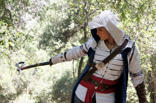Connor Kenway Cosplay 2