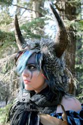 Wild Chic Buffalo Headdress 2