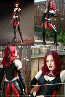 BloodRayne Cosplay Revamped by ctrlaltvamp