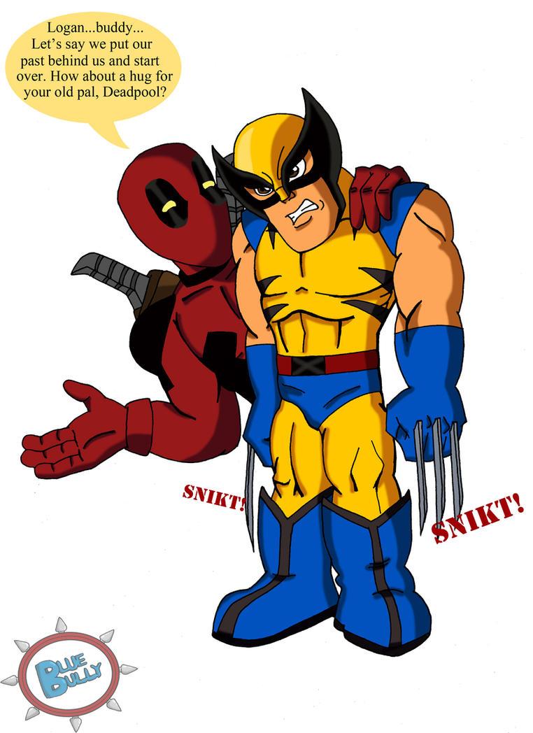 SHS Deadpool and Wolverine by LoveMyBlueBully on DeviantArt