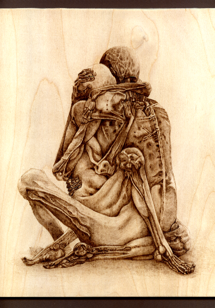 Beksinski - Woodburning by Eskarine