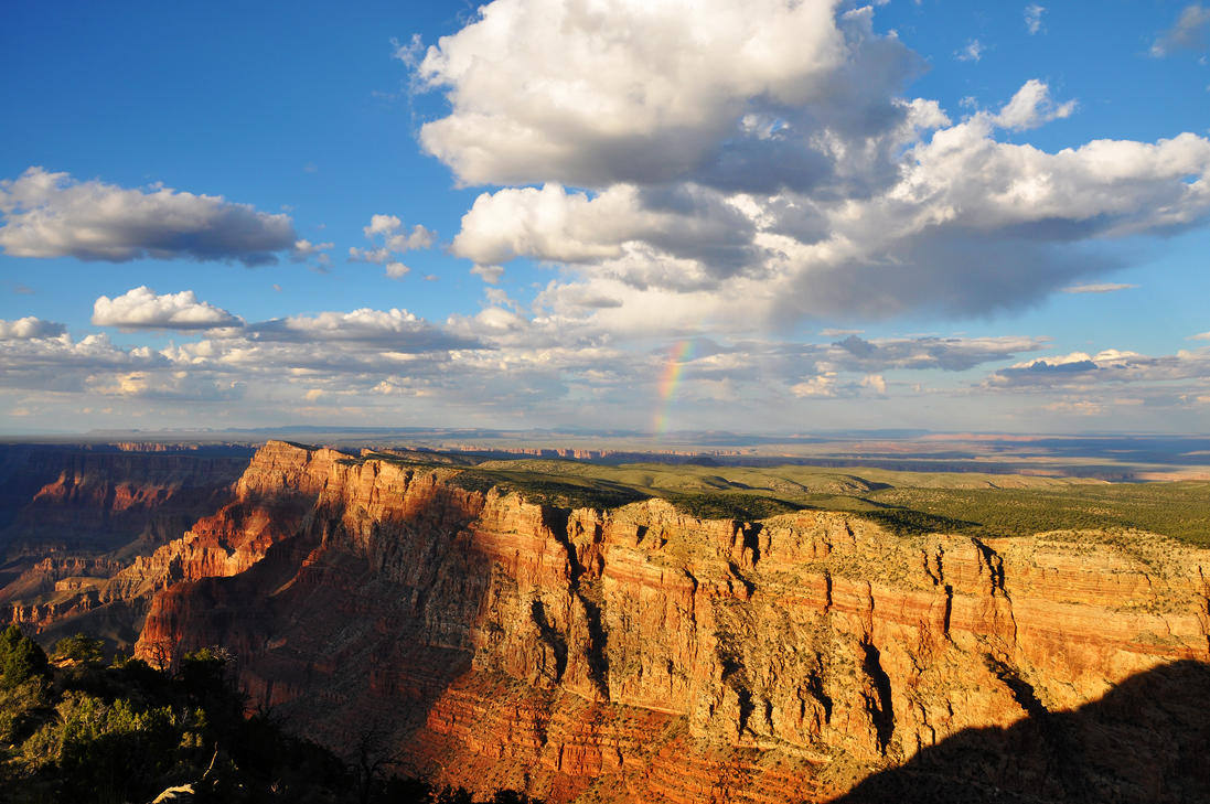 Grand Canyon Rainbow by sugoidave