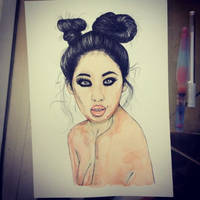 passion - watercolor
