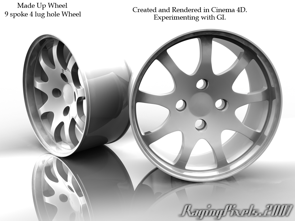 Made Up 9 spoke wheel by ragingpixels