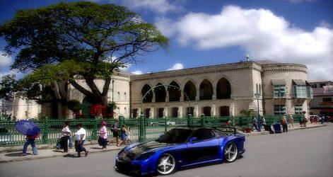 RX-7 in Barbados
