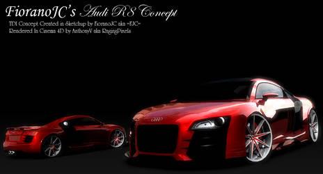 FJC Audi R8 TDI Concept Render