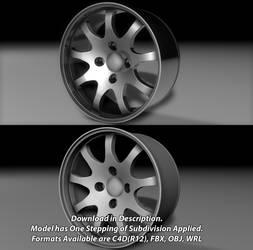 Free 9 Spoke 4 Hub Wheel!