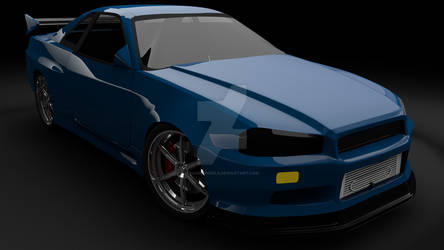 Nissan Skyline R34 - Revisit from 2005 - December