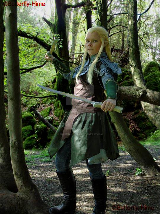 Legolas of Mirkwood by Butterfly-Hime