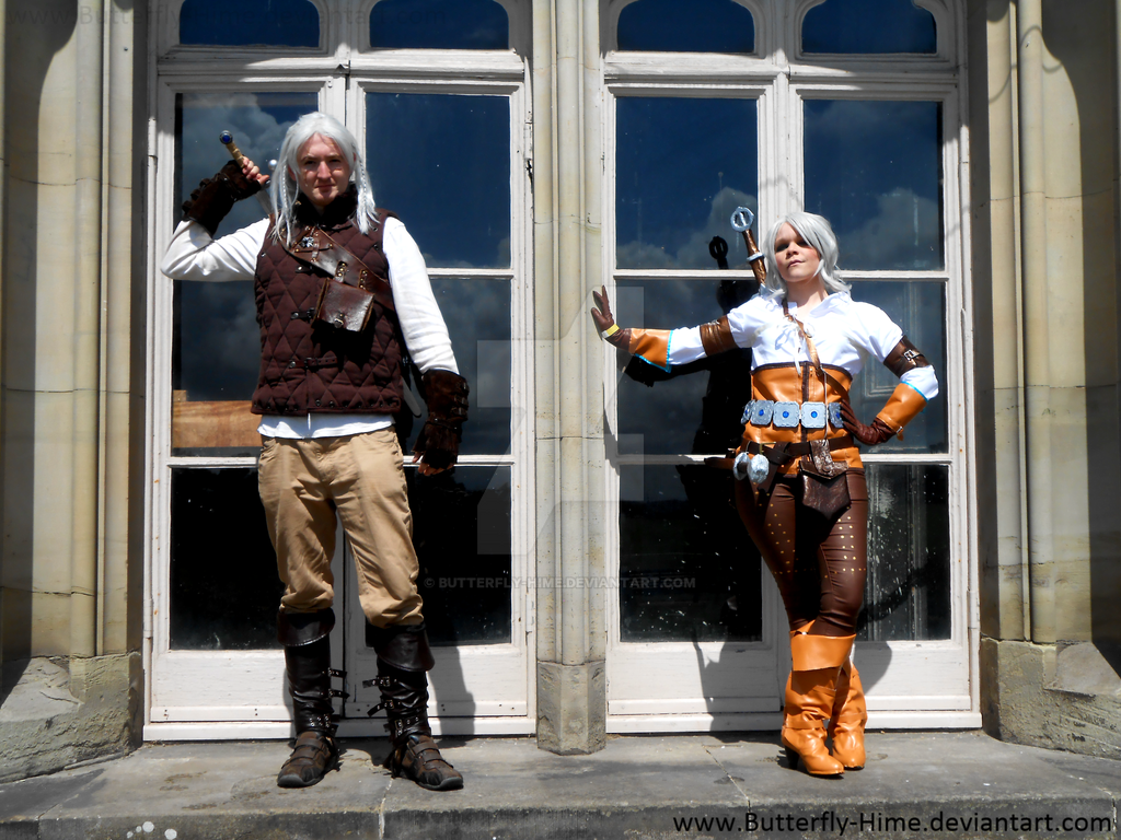 Ciri And Geralt by Butterfly-Hime