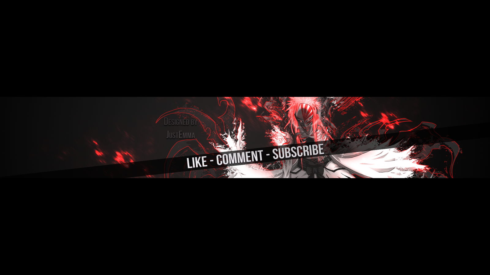 Free Bleach YouTube Banner by JustEmmaGFX on DeviantArt