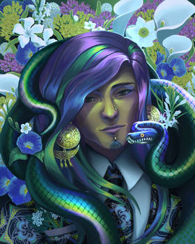 Morning Glories and Snakes