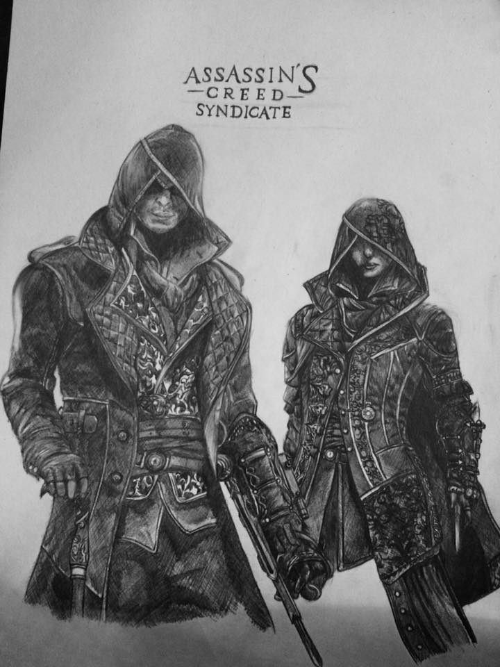 Assassin S Creed Syndicate Jacob And Evie Frye By Proxaria On Deviantart
