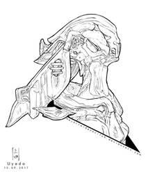 Sketchember - DAY 12 by MajorUyeda