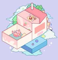 Kitty Cube Island