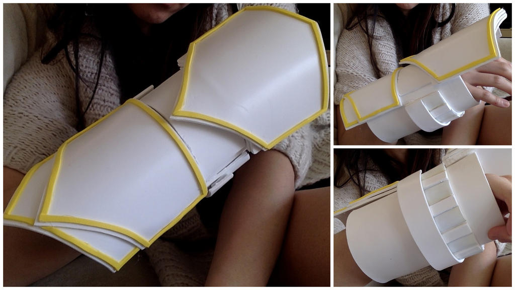 Ember Celica progress (Yang's gauntlet from RWBY) by ...