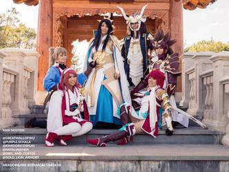 The Hoshido Royal Family - Fire Emblem: Fates by ludustonalis