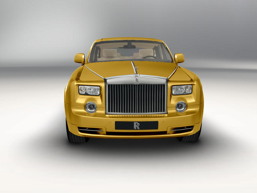 Rolls royce pure gold by Goldythehedgehog10 on DeviantArt