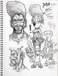 Bokia sketchbook