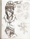 Scottie sketchbook