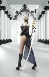 Nier: Automata 2B cosplay