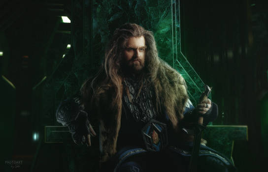 Thorin Oakenshield, King of the Lonely Mountain