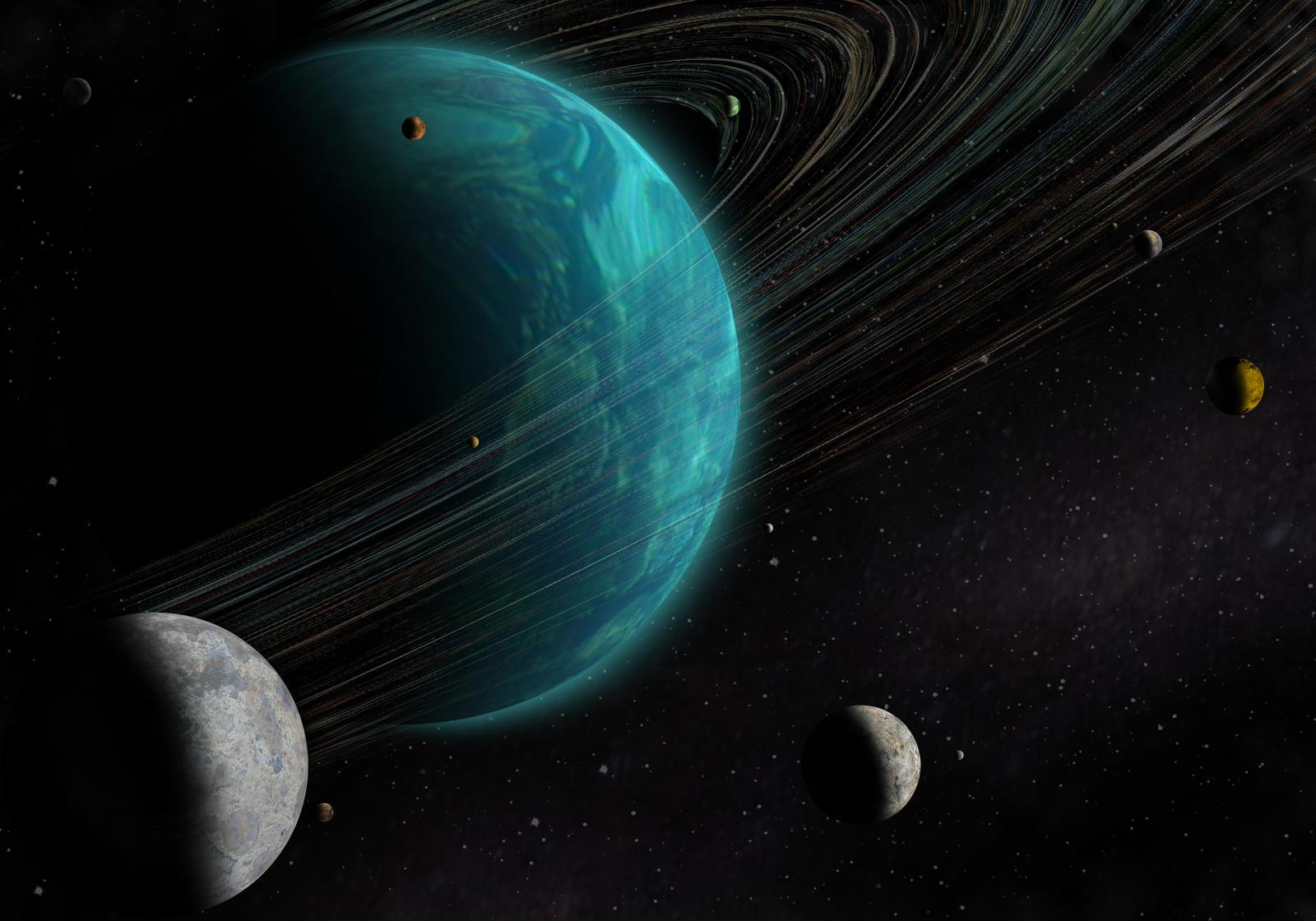 blue giant planet - photo #12