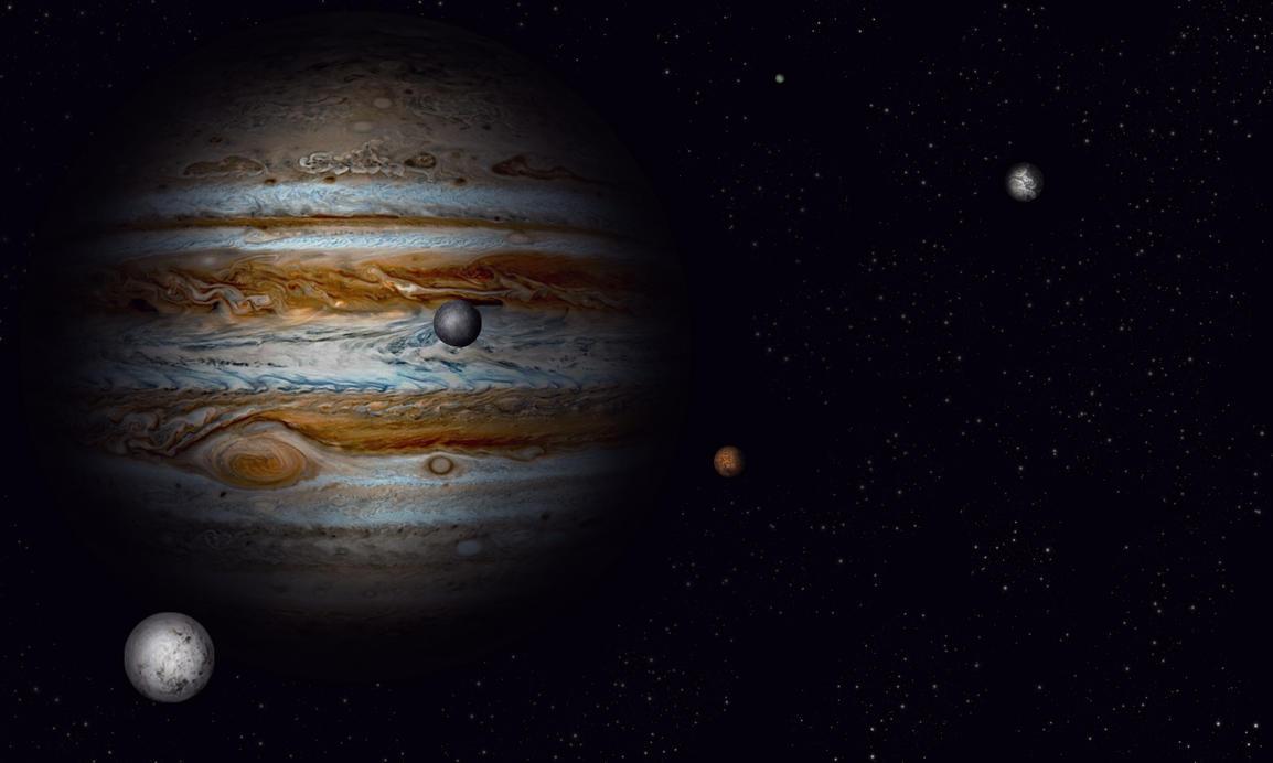 big jupiter moons - photo #39