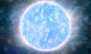 Wolf-Rayet star R136a1