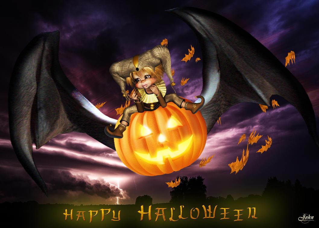 Happy Halloween by Johndoop