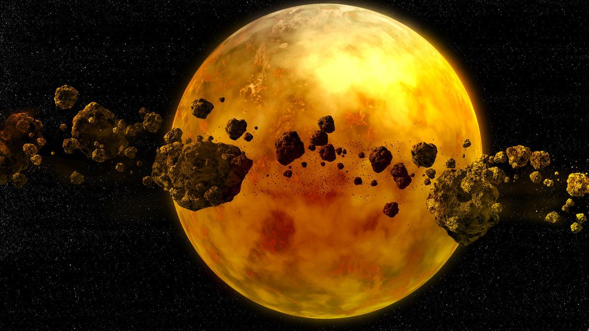 Los Peldaños hacia la Divinidad Mysterious_yellow_planet_with_asteroid__by_johndoop-dalv8pa