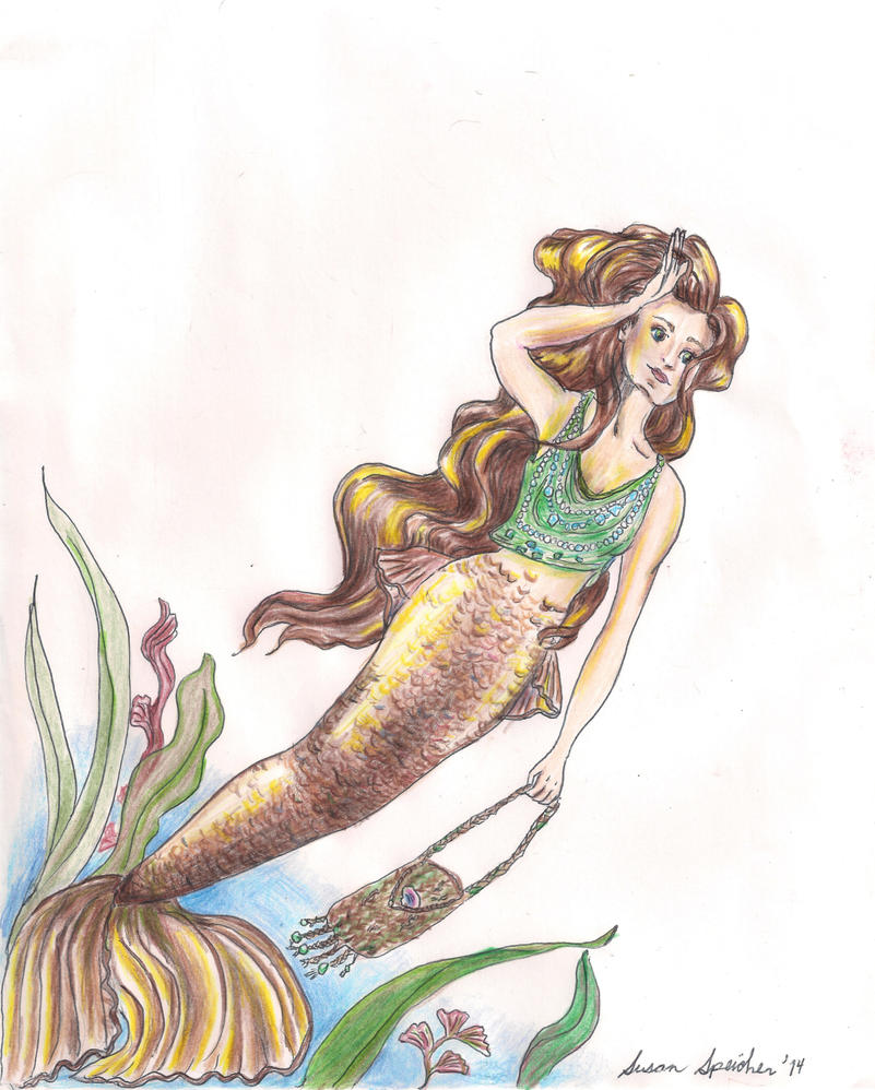 Mermaid by susieecool