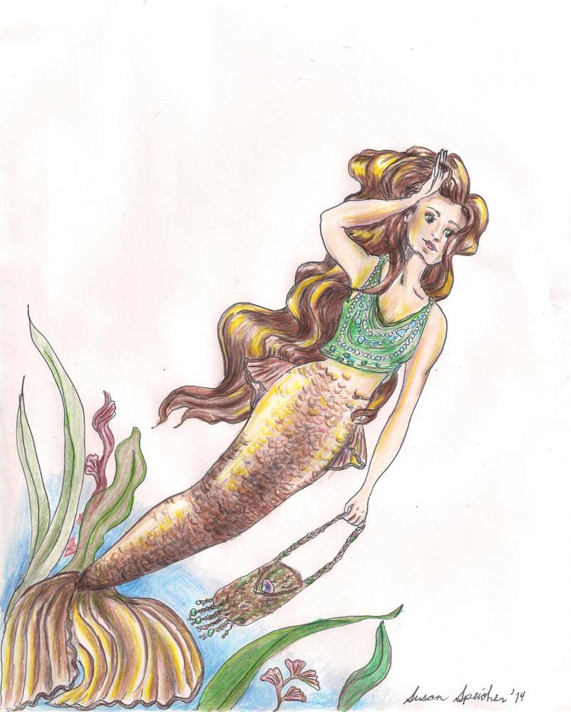 Mermaid by susieecool