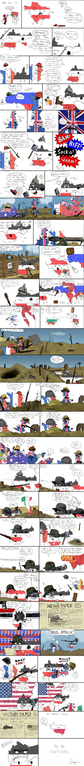 World War One: Colored