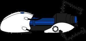 Portal Gun Vector
