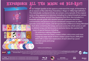 MLP:FIM The Complete Series Blu-Ray Set by TheAmoryWarsSoldier9