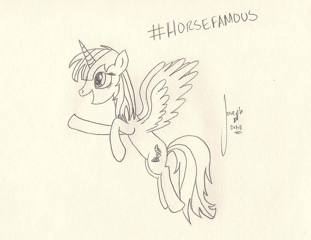 ATG V - Day 10: #HorseFamous by TheAmoryWarsSoldier9