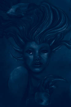 Axolotl Queen_Blue