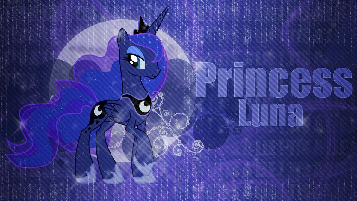Great Wallpaper Horse Magic - wallpaper__princess_luna_by_niightmaremoon-d6cc7hs  Gallery_312933.png
