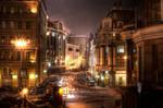 moscow at night. balchug.
