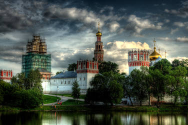 monastery. moscow by moitisse