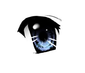 Anime eye by BinaDog