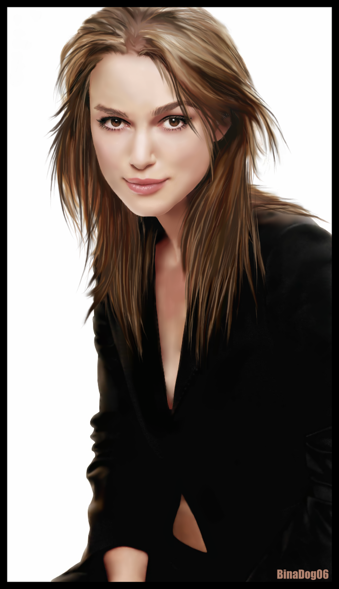 Keira Knightley by BinaDog